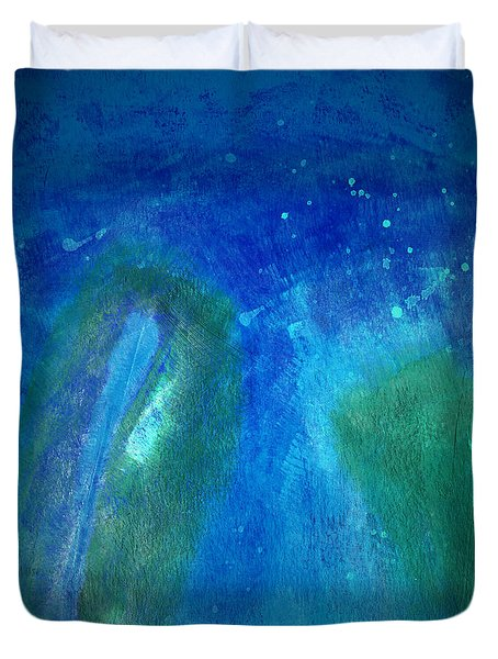 Color Abstraction VIII Duvet Cover by David Gordon