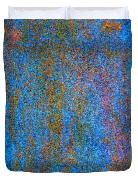 Color Abstraction Xiv Duvet Cover by David Gordon