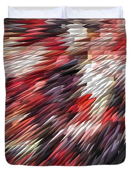 Color Explosion #02 Duvet Cover by Ausra Paulauskaite