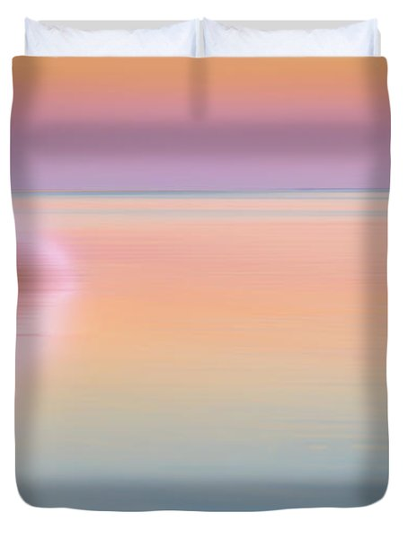 Color Of Morning Duvet Cover by Bill  Wakeley