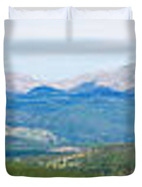 Colorado Continental Divide Panorama Hdr Duvet Cover by James BO  Insogna