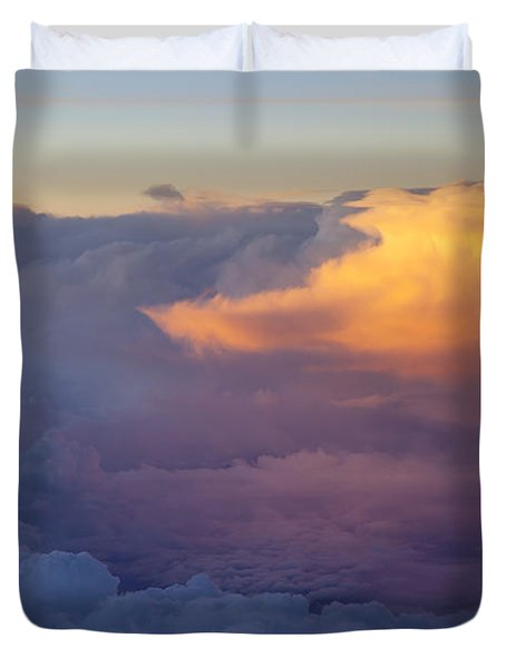 Colorful Cloud Duvet Cover by Brian Jannsen