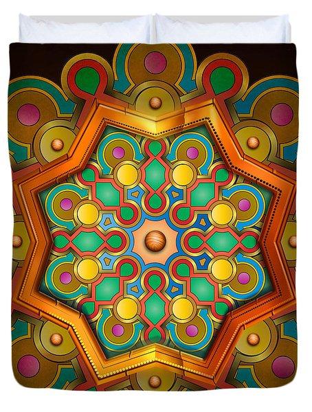 Colors Burst Duvet Cover by Bedros Awak