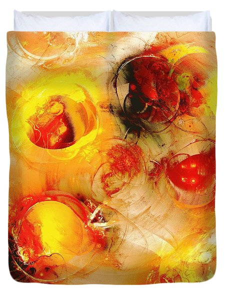 Colors of Fall Duvet Cover by Anastasiya Malakhova
