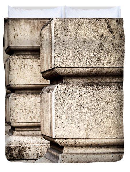 Columns Duvet Cover by Elena Elisseeva