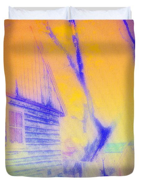 Coming Home Duvet Cover by Hilde Widerberg