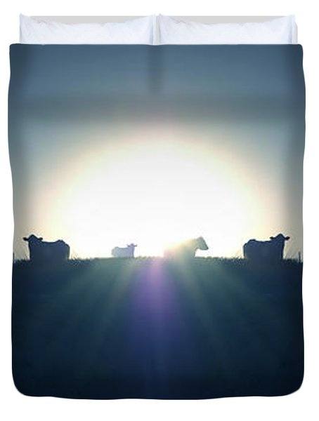 Coming Home Duvet Cover by Mike McGlothlen