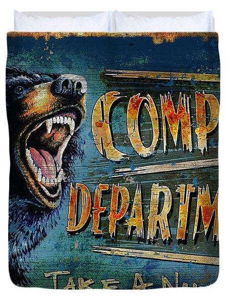 Complaint Department Duvet Cover by JQ Licensing