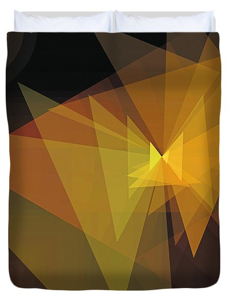 Composition 28 Duvet Cover by Terry Reynoldson