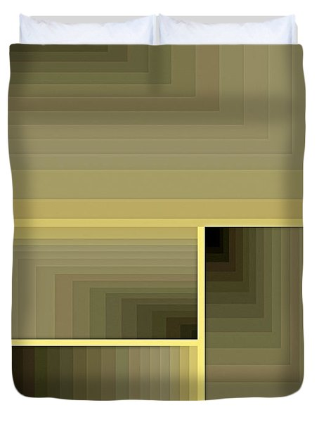 Composition 70 Duvet Cover by Terry Reynoldson