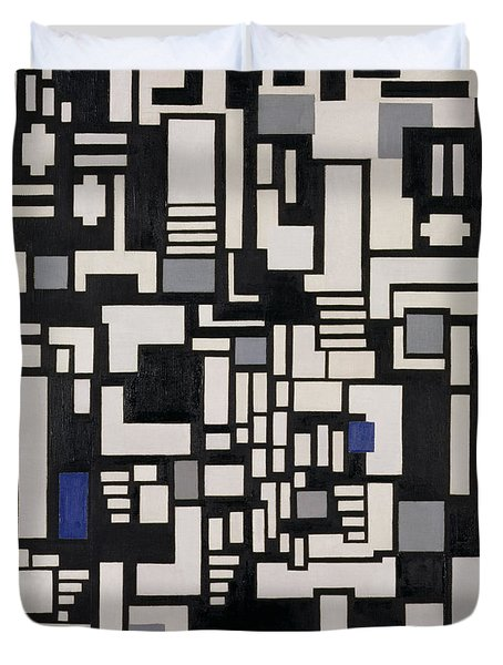 Composition Ix Duvet Cover by Theo Van Doesburg