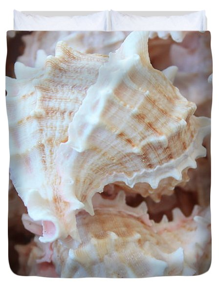 Conches Duvet Cover by Carol Groenen