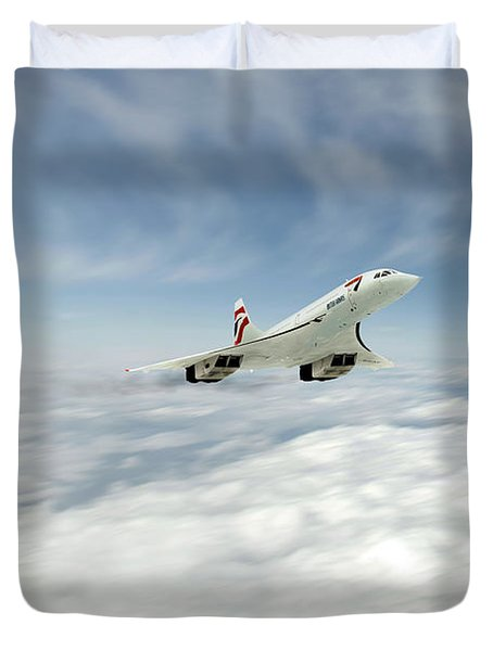 Concorde Legend Duvet Cover by J Biggadike