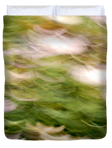 ConeFlowers in the Breeze Duvet Cover by Paul W Faust -  Impressions of Light