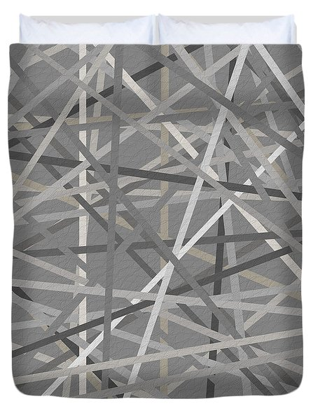 Conjoined Duvet Cover by Lourry Legarde