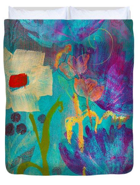 Conscious Living Duvet Cover by Robin Maria  Pedrero