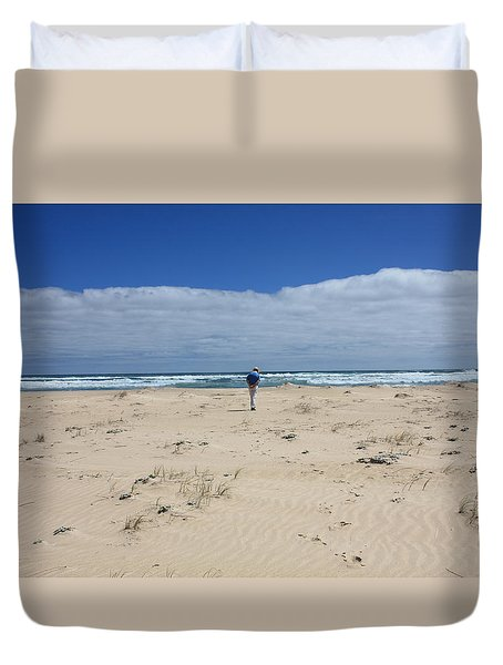 Contemplation Duvet Cover by Elaine Teague