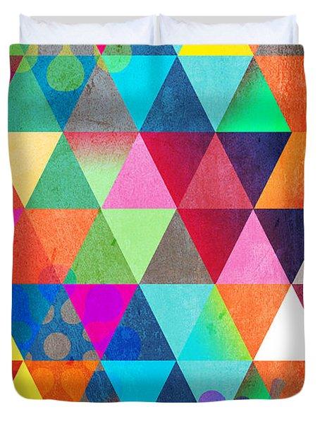 Contemporary 3 Duvet Cover by Mark Ashkenazi