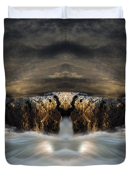 Convergence  Duvet Cover by Bob Orsillo