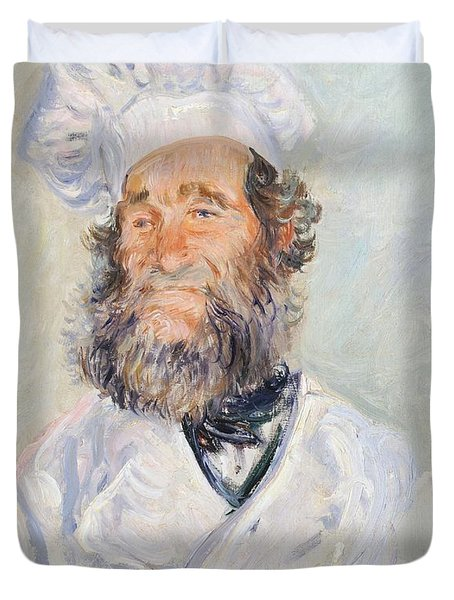 Cook Duvet Cover by Claude Monet