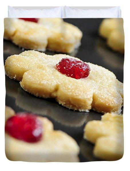 Cookies Duvet Cover by Elena Elisseeva