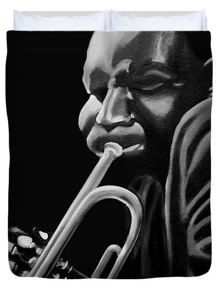 Cootie Williams Duvet Cover by Barbara McMahon