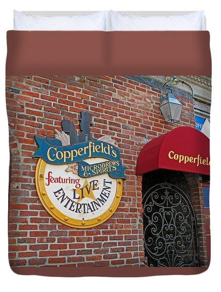 Copperfields Duvet Cover by Barbara McDevitt