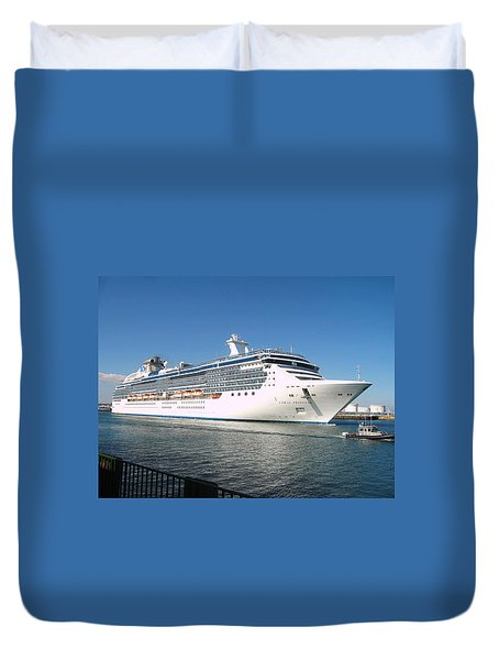 Coral Princess Duvet Cover by Shoal Hollingsworth