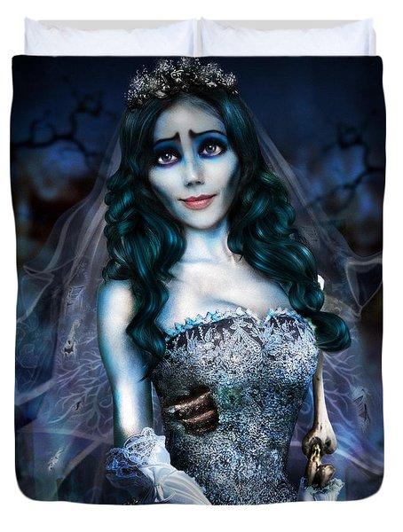 Corpse Bride Duvet Cover by Alessandro Della Pietra