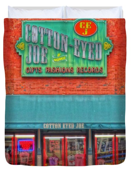 Cotton Eyed Joe Duvet Cover by Dan Sproul