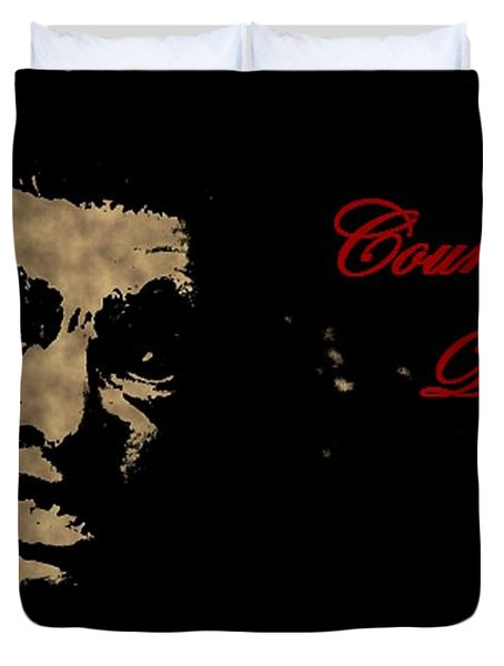 Count Dracula Visits Halifax Duvet Cover by John Malone