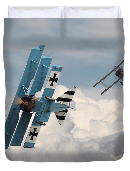 Counterstrike Duvet Cover by Pat Speirs