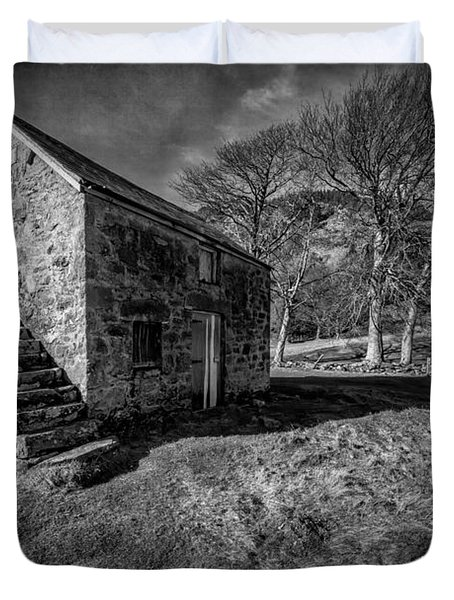 Country Cottage V2 Duvet Cover by Adrian Evans
