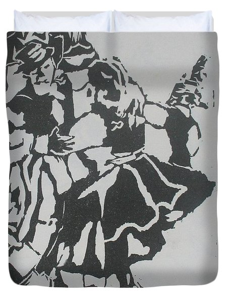 COUNTRY DANCE Duvet Cover by PainterArtist FIN