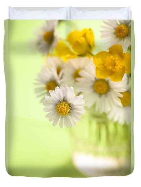 Country Posy Duvet Cover by Jan Bickerton
