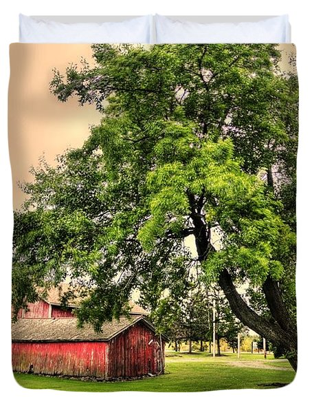 Country Scene Duvet Cover by Kathleen Struckle