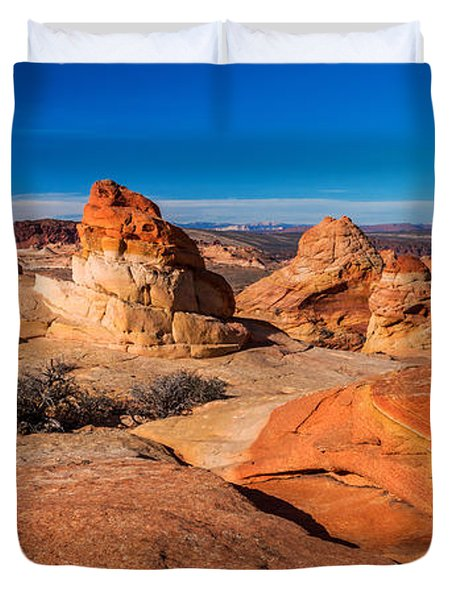 Coyote Lines Duvet Cover by Chad Dutson