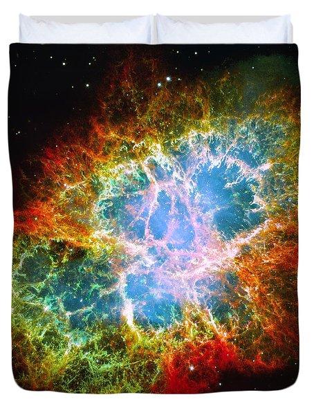 Crab Nebula Duvet Cover by Don Hammond