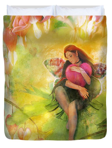 Cradle Your Heart Duvet Cover by Aimee Stewart