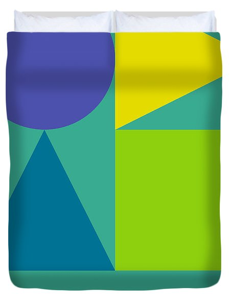 Creative Minds Poster Duvet Cover by Naxart Studio
