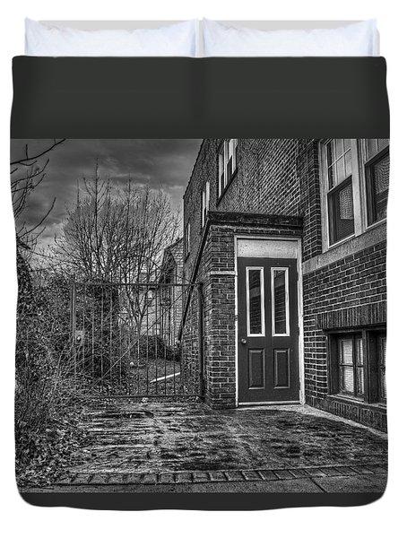 Creepy Gate Duvet Cover by Tim Buisman
