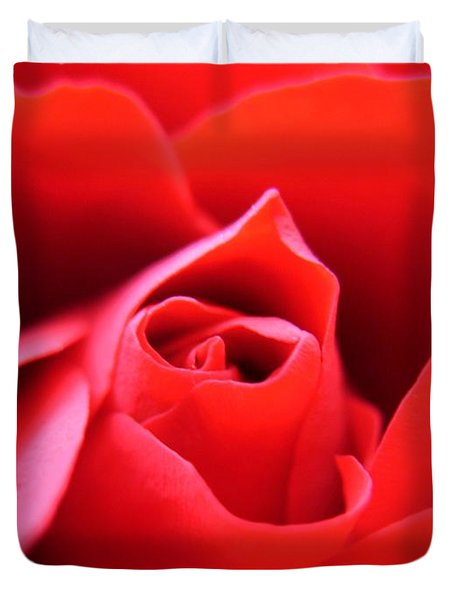 Crimson Duvet Cover by Patti Whitten