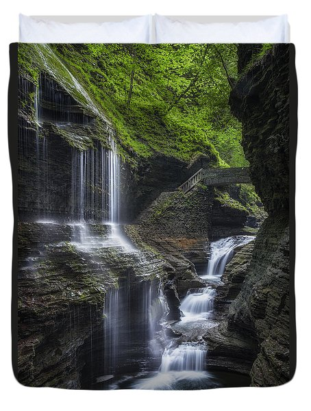 Crown Jewel Duvet Cover by Bill  Wakeley