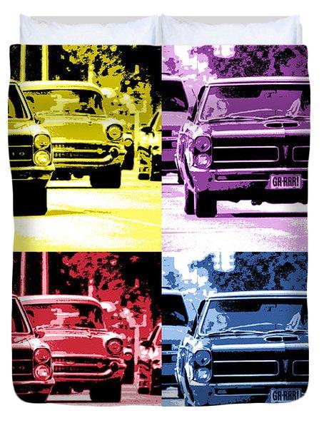Cruise Pop 2 Duvet Cover by Gordon Dean II