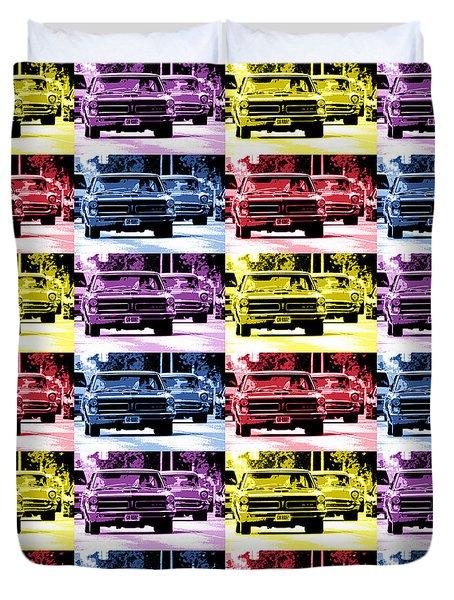 Cruise Pop 3 Duvet Cover by Gordon Dean II