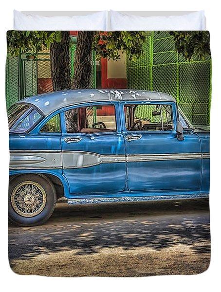 Cruisin Havana Duvet Cover by Erik Brede