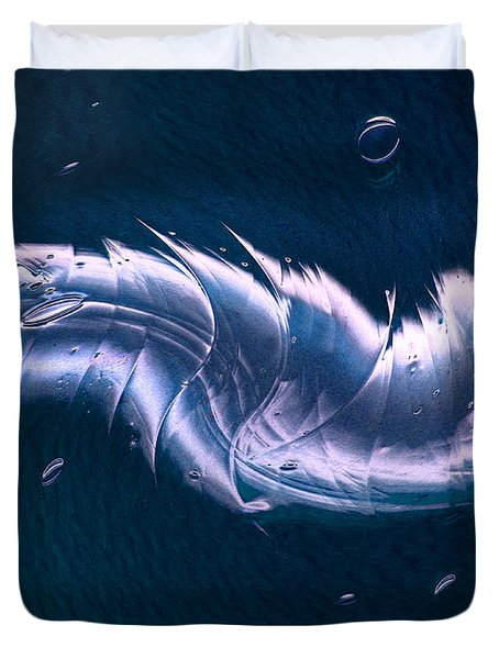 Crystalline Entity Duvet Cover by Peter Piatt