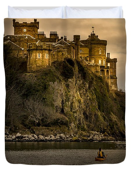 Culzean Castle Scotland Duvet Cover by Alex Saunders
