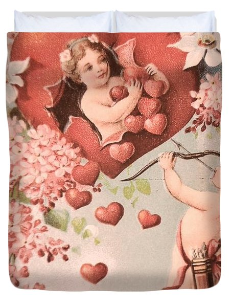 Cupid Duvet Cover by M and L Creations