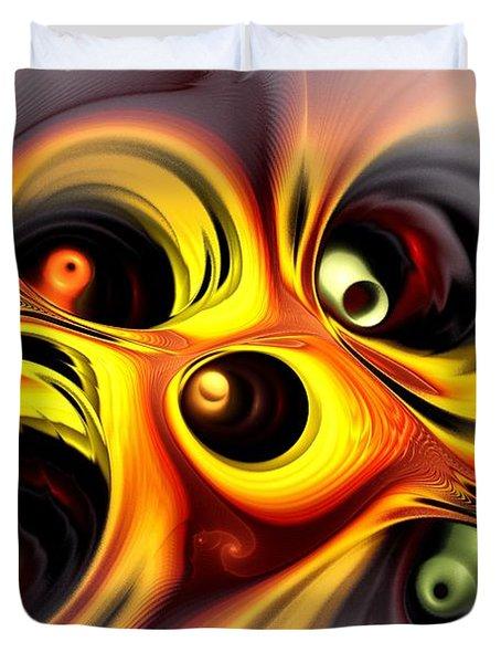 Curious Duvet Cover by Anastasiya Malakhova